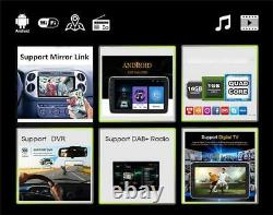 10.1 2 DIN Android9.1 Car Stereo Radio MP5 Player GPS Touch Screen Mirror Link
