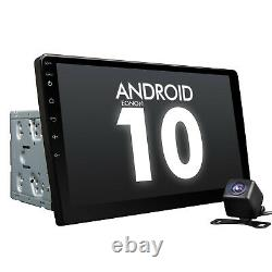 10.1 Android 10 2DIN Car Stereo GPS Nav Head Unit Touch Screen Bluetooth OBD2 e