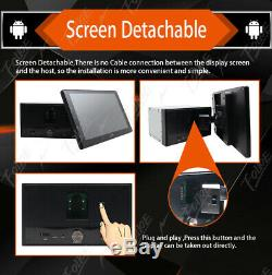 10.1 Android 9.0 Double 2 DIN In dash Car stereo Radio Player GPS Navi WiFi+MIC
