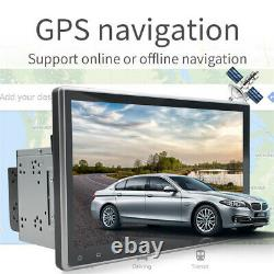 10.1 Android 9.1 ROM 32G 2Din Car Stereo Radio GPS Wifi OBD2 Mirror Link Player
