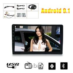 10.1 inch Android 9.1 2 DIN Car Radio Stereo Quad Core GPS Wifi Accessories Kit