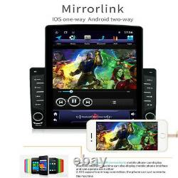 10.1in Android 8.1 Car Stereo GPS Navigation Radio Player 1 Din WIFI withRear Cam