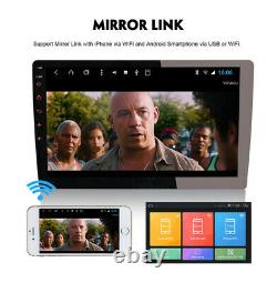 10 2 + 32G Android 8.1 1DIN In dash Car Stereo Radio WiFi Mirror Link GPS Navi