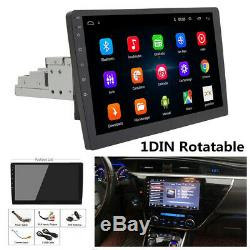 1080P 12V 1DIN Rotatable 10.1 4G Android 8.1 Car Stereo Radio GPS Wifi Player