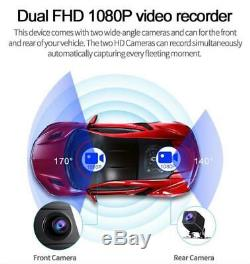 11.66'' Android 8.1 2+32G Car DVR Rearview Mirror Dash Cam Recorder Camera Kit