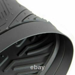 11pc GMC Car Truck Front Rear Rubber Floor Mats Seat Covers Steering Wheel Cover