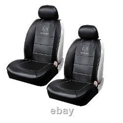 12pc Dodge RAM Car Truck Suv Rubber Floor Mats Seat Covers Steering Wheel Cover
