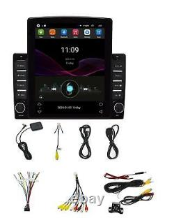 1DIN 10.1 Android 8.1 Car Stereo Head Unit Radio GPS Navigation WiFi OBD &Cam