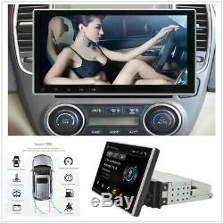 1DIN 10.1Quad-core Stereo Radio GPS Wifi Mirror Link MP5 Player Car Accessories