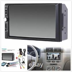2 Din Car Radio Audio Stereo MP5 Player Support 7 Bluetooth Touch Screen Camera