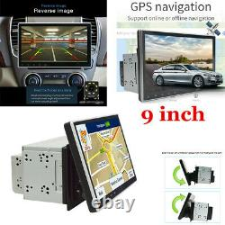 2Din 9 Android 9.1 Quad-core Car Dash Stereo Radio GPS Touch Screen Wifi 3G/4G
