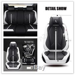 6D Microfiber Leather Senior Coupe Car Seat Cover Standard Version Comfortable
