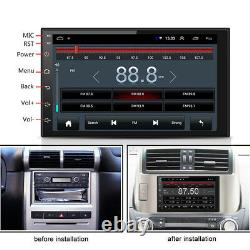 7 2Din Android 8.1 Car Stereo Radio GPS Wifi 3G/4G BT DAB Mirror Link OBD 1+16G