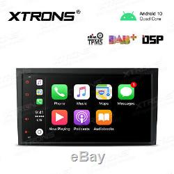 8 Android 10 Car GPS Navigation Radio Stereo in-Dash Head Unit for Audi A4 S4