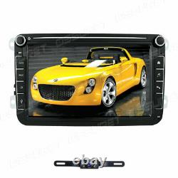 8 Android Car Stereo for VW Volkswagen Golf Tiguan Jetta GPS 2DIN Radio Player