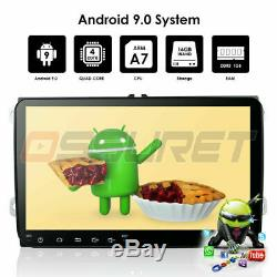 9 2Din Android 9.0 Car Radio GPS Stereo BT For VW Jetta Passat Tiguan Polo DAB+