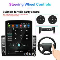 9.7in Vertical Screen HD Car MP5 Player Android 9.1 Navigation Radio Stereo GPS