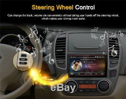 9HD 1080P Android 8.1 2Din Car Stereo Radio GPS Wifi LTE BT DAB Mirror Link OBD
