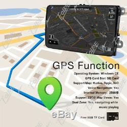 9inch Head Unit Android 8.0 GPS Navigation Car Stereo Radio BT for VW+Camera+Map