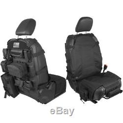 9pc Tactical Molle Car Seat Back Storage Bag Organizer For Jeep Ford F150 Toyota
