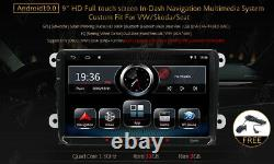 Android 10.0 Car Stereo Radio GPS Navigation Head Unit DSP for VW Golf 5 Jetta