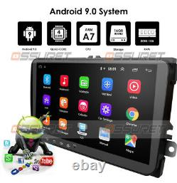 Android 9.0 RADIO Car Stereo Player Bluetooth GPS for VW Volkswagen JETTA PASSAT