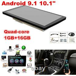 Android 9.1 1+16G Car Stereo GPS Navigation Radio Player Double Din WIFI 10.1