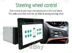 Android9.0 Car Radio Stereo 10.1Double 2Din GPS Navigation HD Rear Camera 4Core