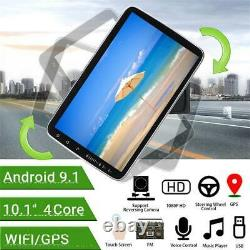 Android9.1 Car Stereo Radio Player 1DIN 10.1 Touch Screen GPS Wifi Mirror Link