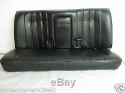 BMW 3 Series E30 M Tech Genuine Fit Tailored Black Leatherette Car Seat Covers