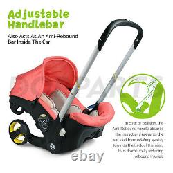 Baby Infant Car Seat Stroller Combos Newborn 4 in 1 Light Weight Travel Foldable