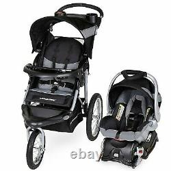 Baby Jogging Stroller Travel System with Car Seat Playard Diaper Bag Jogger