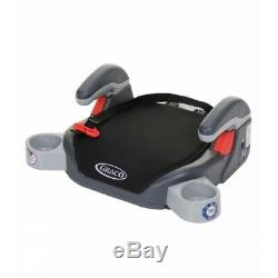 Brand New Midnight Black Graco Booster Basic Car Seat, Group 3