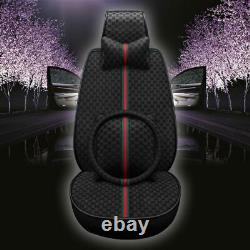Breathable Truck SUV Car Seat Cover Cushion Full Set Universal Front Rear Pillow