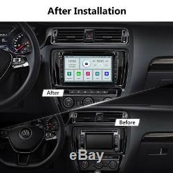 CAM+OBD+DVR+Android 10 8 Car Stereo Radio GPS DVD For VW Golf/Polo/Jetta/Passat