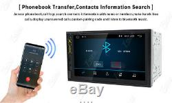 Car Radio Stereo 7 Smart Android 9.0 IPS WiFi 2DIN Player GPS DAB Mirror Link