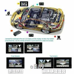Car SUV Record 360 Degree Full Parking Views With 4 Cameras DVR&Video Monitoring