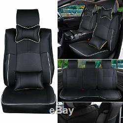 Car Seat Cover For 2013-2018 Dodge Ram 1500 2500 3500 Full Set Leather Cushion