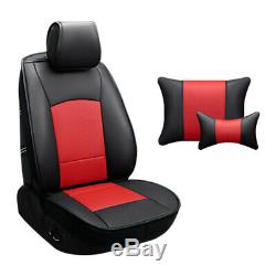 Car Seat Cover For Ram 1500 2500 3500 2014 2015 2016 2017 Full Set PU Leather