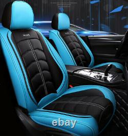 Car Seat Cover Luxury PU Leather Breathable Cushion Fit For Interior Accessories