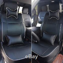 Car Seat Covers 5-Seats withArmrest Pad For Dodge Ram 2009-2018 1500 2500 3500 US