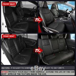 Car Seat Covers For Toyota RAV4 2019 2020 Hybrid Seat Protector Leather Cushion
