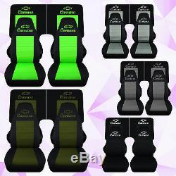 Cc 1982-1992 Chevrolet Camaro front +4 piece rear car seat covers color choice