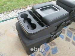 Chevy Silverado front middle seat center console came from polis car parts