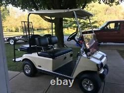 Club Car DS (79-99) Golf Cart Vinyl 3 Piece Seat Cover Set for Bottom & Back