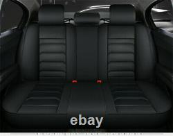 Deluxe 5D Full Surround Car Seat Cover Leather Full Set For Interior Accessories