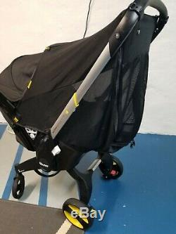 Doona Infant Car Seat/Stroller with LATCH Base in Color Nitro/Black Brand New