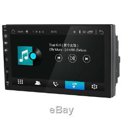 Double Din 7Android 8.1 4Core Car Stereo GPS HeadUnit WIFI 1GB RAM No-DVD Radio