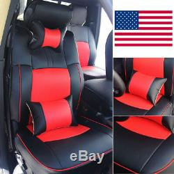 For Dodge Ram 1500 2500 3500 Car Seat Cover Front+Rear Armrest Cushion 2009-2018