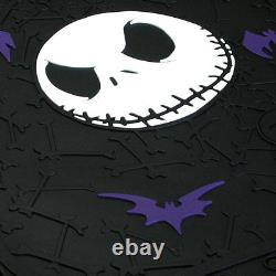 For Ford 11pc Jack Skellington Nightmare Before Christmas Car Seat Cover Set